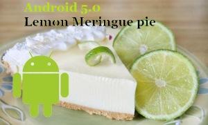 Android 5.0 Lemon Meringue pie