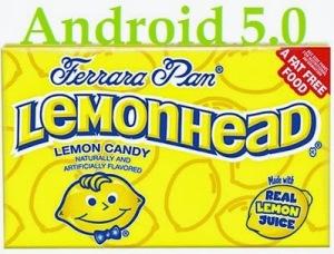 Android 5.0 Lemonhead