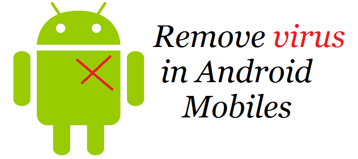 How to remove Virus from Android mobiles or tablets