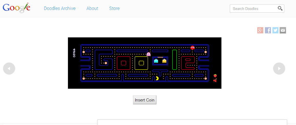 Trick to play Game in Google search result page - Really Amazing