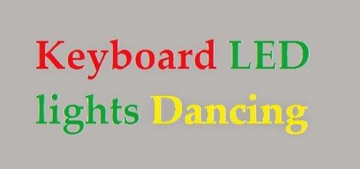 Keyboard-LED-lights-Dancing