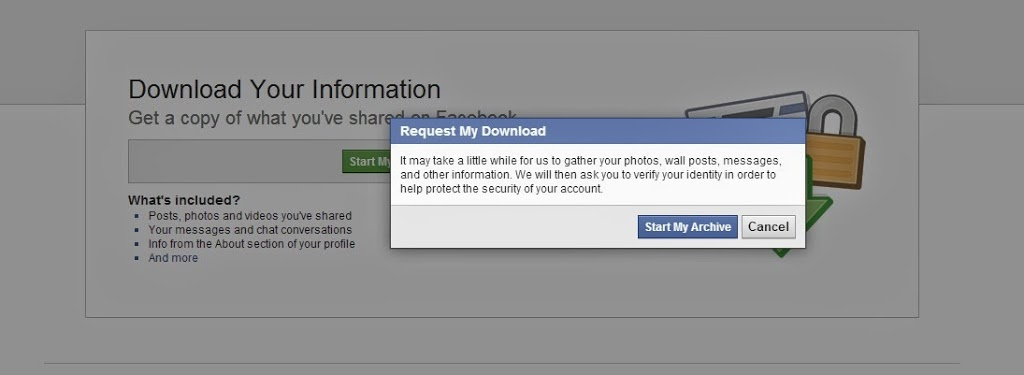 how to find deleted messages on facebook archive