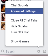 how to post status only certain friends can see