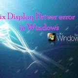 Fix Display Driver error in Windows