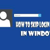 How to skip Login screen in Windows