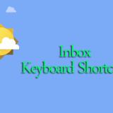 inbox keyboard shortuts copy