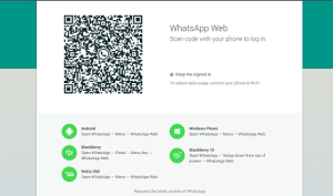 use whatsapp on pc web - how to use (5)
